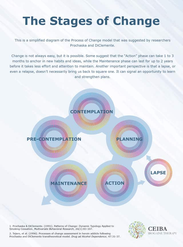 Stages of Change Infographic