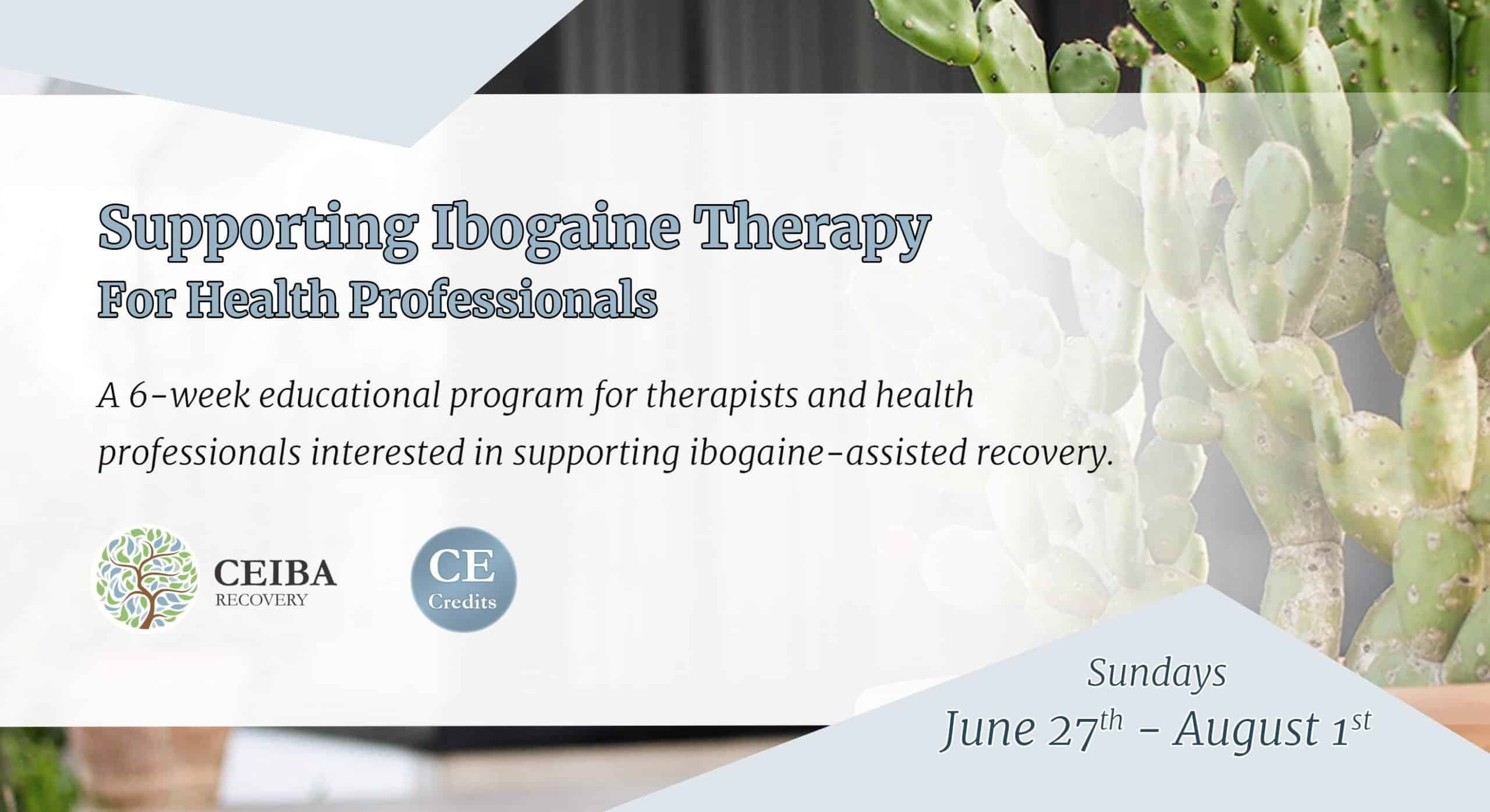 Ibogaine Therapy Training